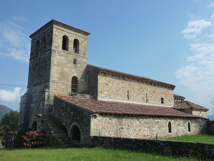 Iglesia Románica de San Andrés (Santa María de Cayón,Cantabria) -