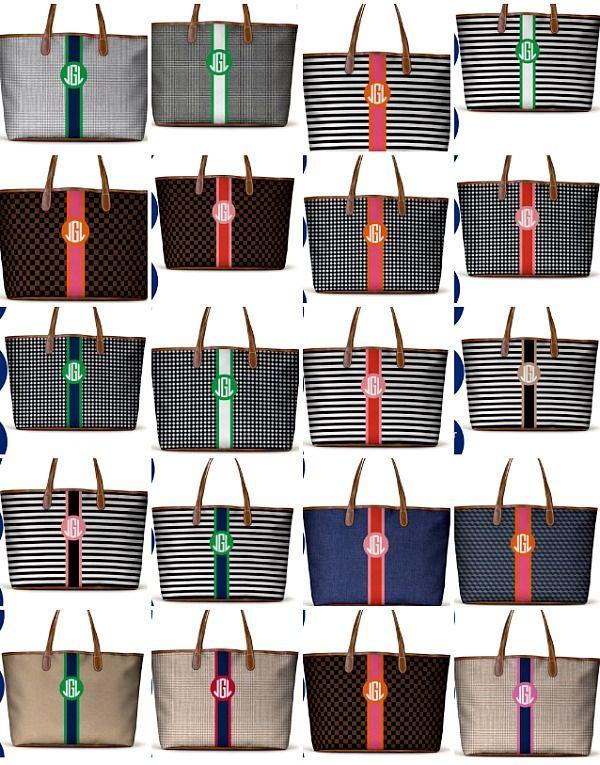 Barrington Bags St. Anne Tote custom options