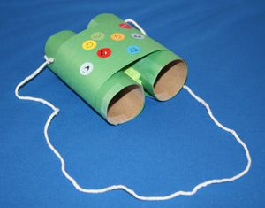 Binoculars Craft-for Bird Watching