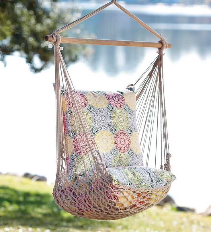 hammock swing - I NEED this: Summer Outdoors, Swing Chairs, Patio, Hammock Chairs, Back Porches, Cozy Places, Dad Backyard, Back Yard, Hammock Swing