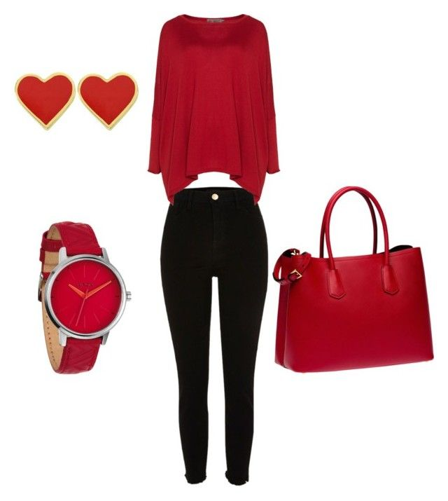 """""""Untitled #45"""" by erikaelena23 on Polyvore featuring Exelle, Prada and Nixon"""