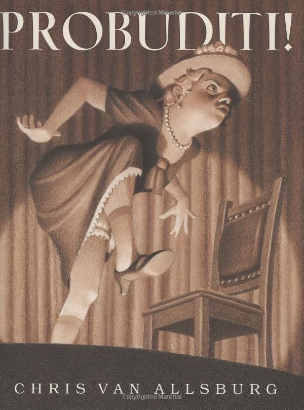 Probuditi! by Chris Van Allsburg: In which Calvin learns the dangers of using a hypnotizing machine on his little sister! #Books #Kids #Probuditi #Chris_Van_Allsburg: Worth Reading, Vans, Probuditi, Books Worth, Picture Books, Children S Books, Mentor Text