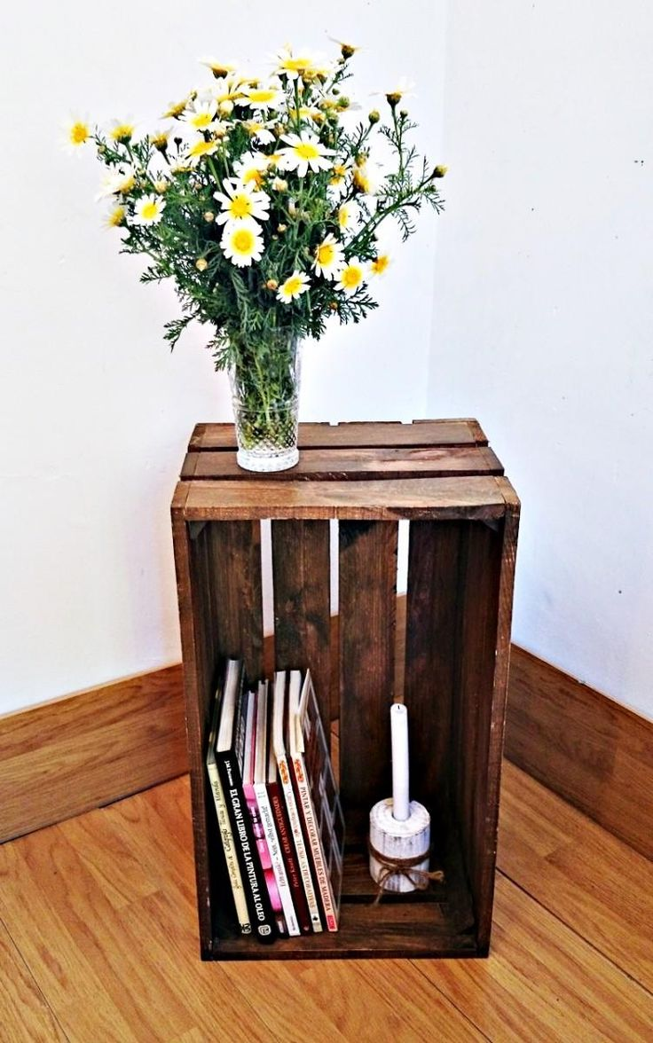 20 ideas para crear una estantería hecha con cajas de frutas
