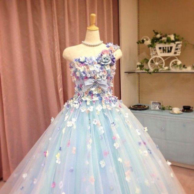 着たいドレスシリーズ♡  #ウエディングドレス #着たいのいっぱい #プレ花嫁