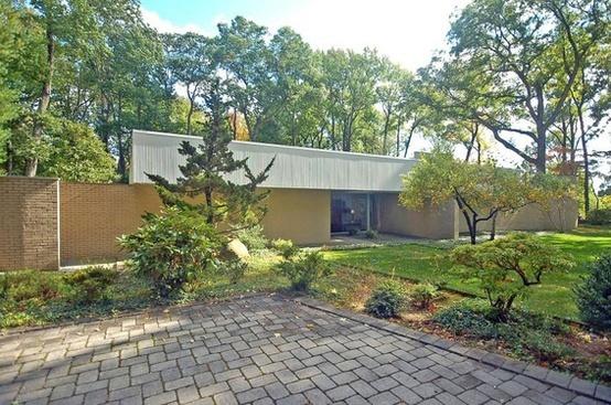 Jerome and Carolyn Meier House by Architect Richard Meier 1965