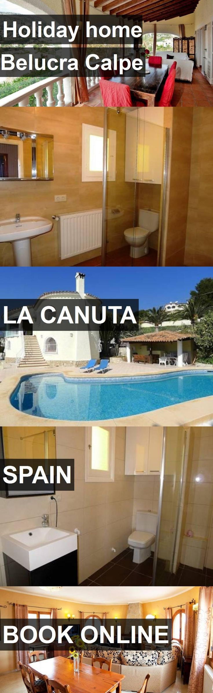 Hotel Holiday home Belucra Calpe in la Canuta, Spain. For more information, photos, reviews and best prices please follow the link. #Spain #laCanuta #travel #vacation #hotel