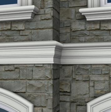 The 16 best Exterior Foam Wall Bands images on Pinterest | Moulding ...