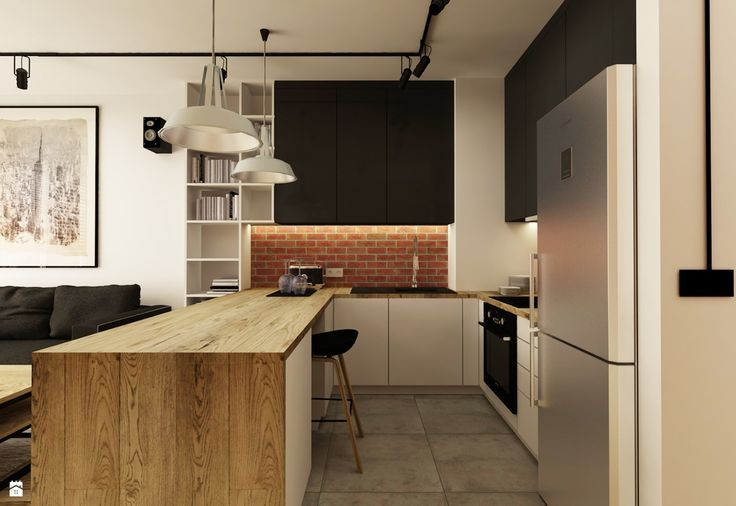 Kuchnia - Styl Industrialny - design me too