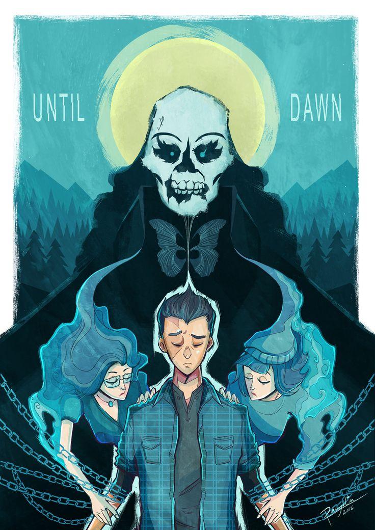 Until Dawn - Josh, Hannah, and Beth Washington