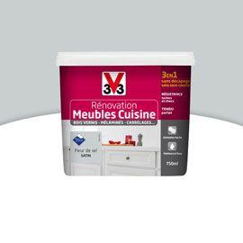 Peinture RENOVATION Meubles Fleur de sel 0.75L V33 | Cuisine