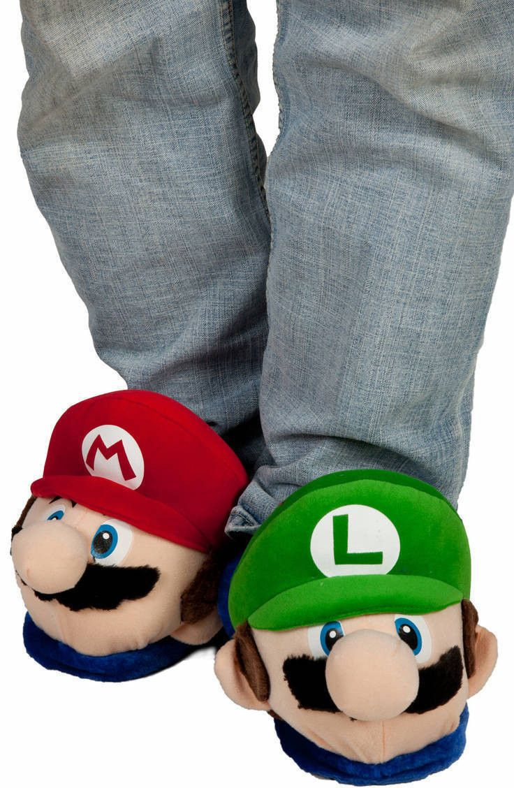 Super Mario Brothers Slippers