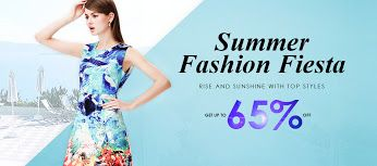 Summer Fashion Fiesta  Up to 65 % off http://bit.ly/1MFgMv7