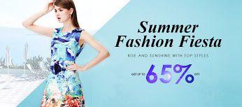 Summer Fashion Fiesta  Up to 65 % off http://bit.ly/1MFgMv7