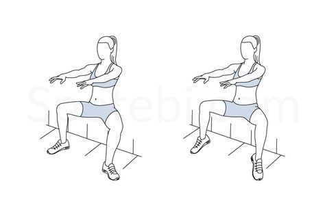 """Wall sit plie calf raise exercise guide with instructions, demonstration, calories burned and muscles worked. Learn proper form, discover all health benefits and choose a workout. <a href=""""http://www.spotebi.com/exercise-guide/wall-sit-plie-calf-raise/"""" rel=""""nofollow"""" target=""""_blank"""">www.spotebi.com/...</a>"""