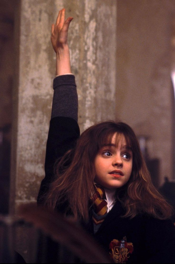 This Baby Harry Potter Fan Grew Up To Be Like Hermione Granger Harry Potter Scene Harry Potter Hermione Harry Potter Movies