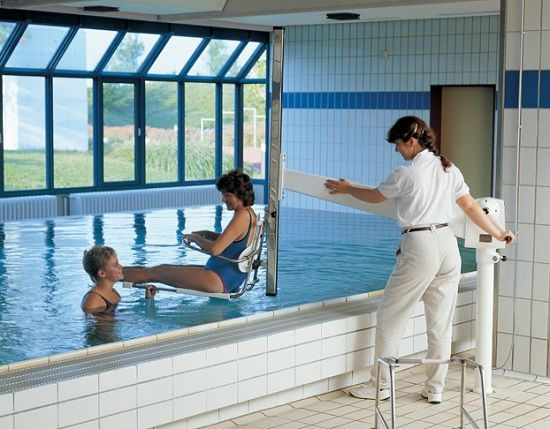 neptune hydrotherapy pool hoist indoor pool disabled pinterest pools