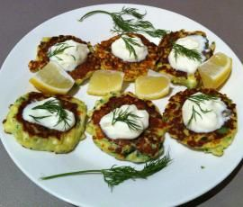 Recipe Zucchini and Haloumi Fritters by Terri-Anne Murray - Recipe of category Main dishes - vegetarian