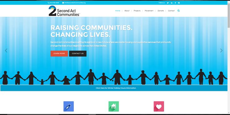 Second Act Communities SM is a national 501(C)3 community development corporation that creates housing and supportive communities for neighbors in need.