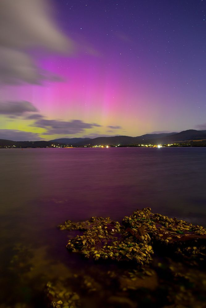 Oyster Bed Aurora by Robert Downie on 500px