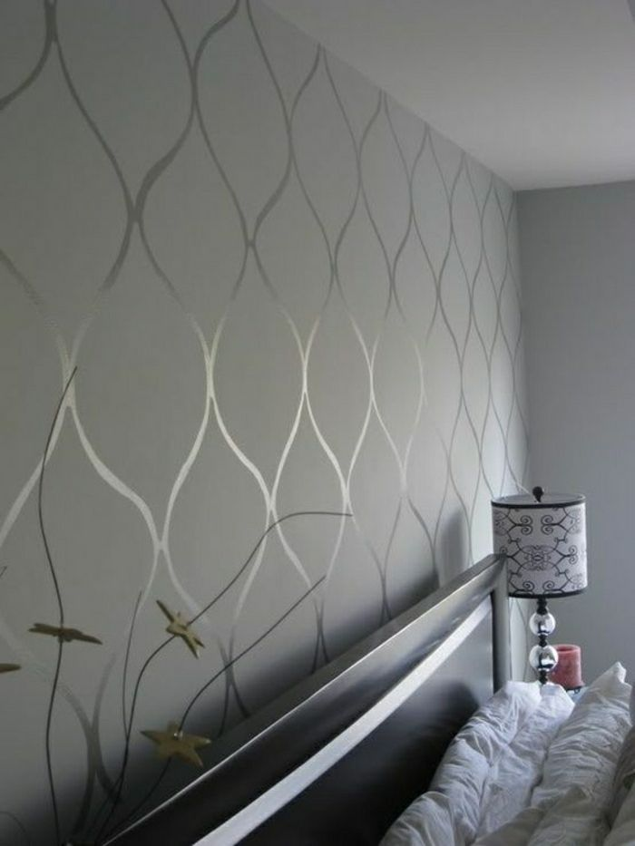 Tapete In Grau Stilvolle Vorschlage Fur Wandgestaltung