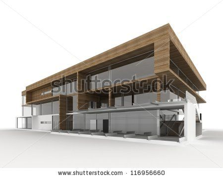 1000 images about small office on pinterest modern for Small modern buildings