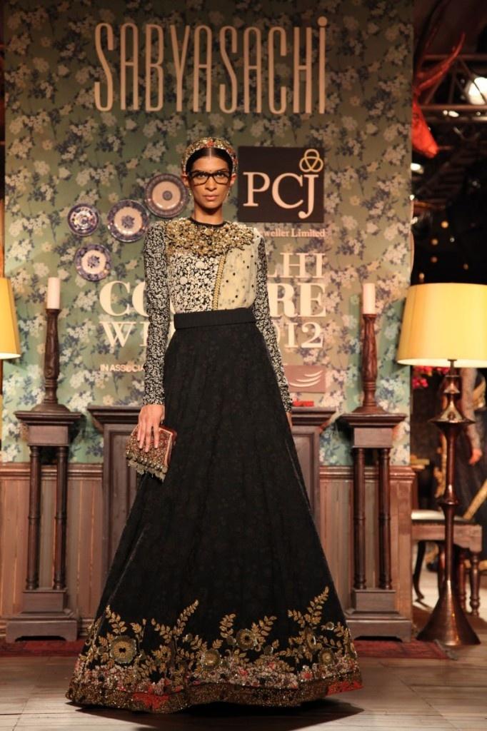 Sabyasachi Delhi Couture Week 2012 #sabyasachi #delhicoutureweek2012 #embellished #embroidery