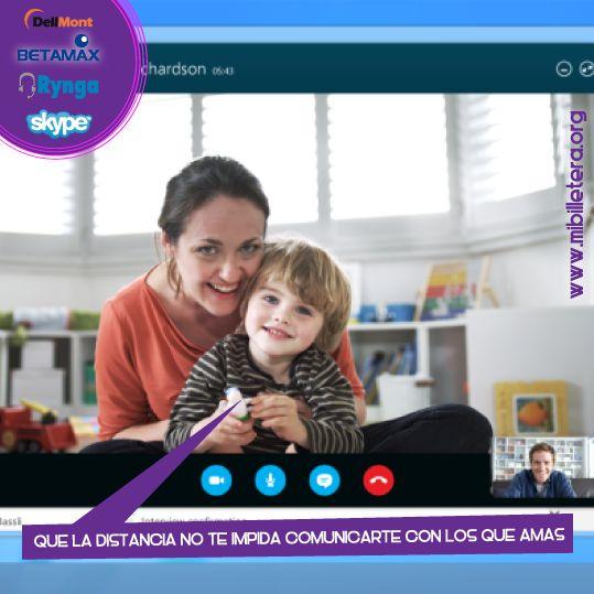 Recarga Dellmont, Ringa, Skype y más! Mibi más cerca de ti y de los tuyos!  Con mibi puedes recargar tu operador VoIP para que la distancia no te impida compartir con los que amas.  Ingresa Ya! www.mibilletera.org