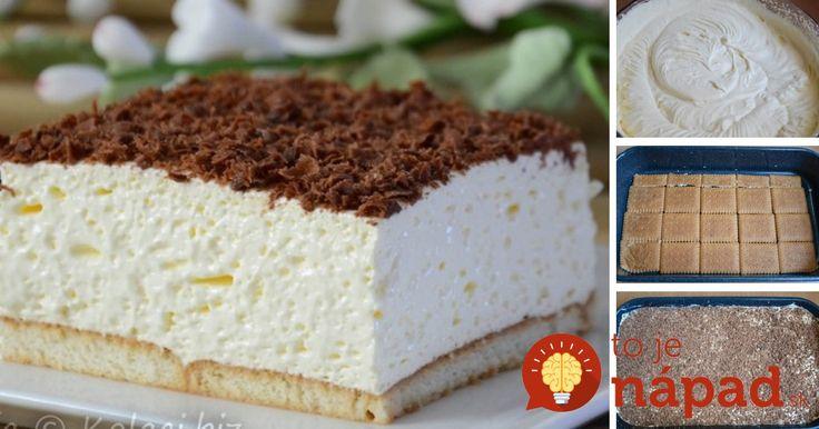 Žiadne varenie ani pečenie. Pripravte si vynikajúci dezert s nadýchaným krémom, ktorý hravo zvládnete za menej ako 15 minút.