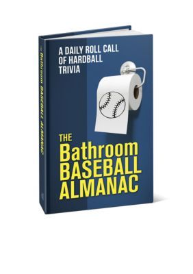 Red-Letter Press, Inc. Men's Bathroom Baseball Almanac -  - One Size