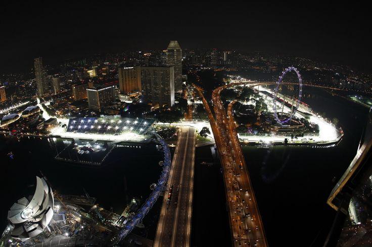 Singapore - F1 circuit