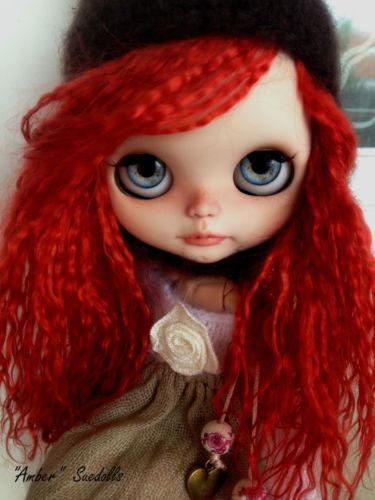OOAK Custom Blythe Doll Amber Susanesachica | eBay