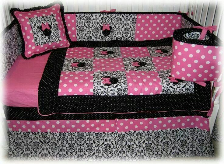 Mini mouse baby bed  Baby ideas  Minnie mouse nursery
