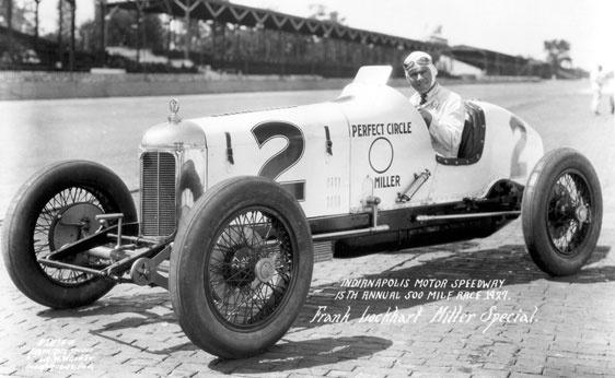 Frank Lockhart Indianapolis 500 1927 Four Lap 10 Mile