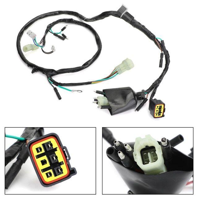 Wire Harness For Honda Trx400ex Trx 400 Ex 1999 2004 32100 Hn1 000 In 2020 Trx Honda Harness