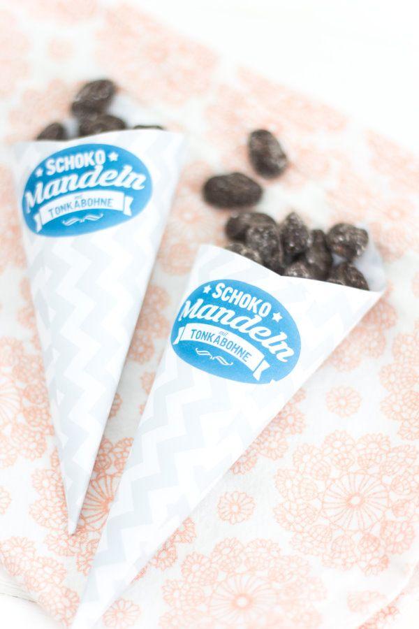 Zum Tag der Mandel gibt's  Schokomandeln mit Tonkabohne {Werbung} by http://titatoni.blogspot.de/  #almondday