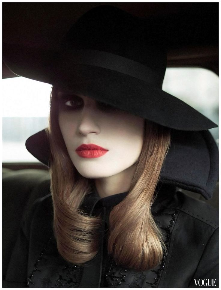 Eugenia Volodina Vogue Italia Apr. 2002 – On the Road by StevenMeisel