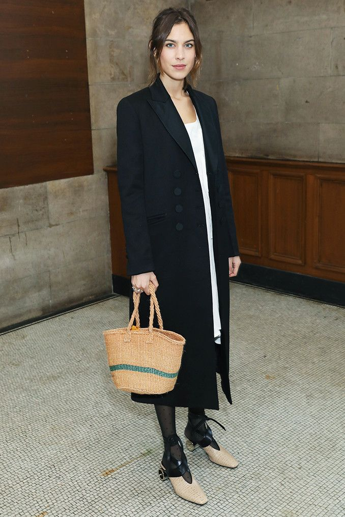 See what the biggest celebrities and fashion insiders have been wearing front row to London Fashion Week.
