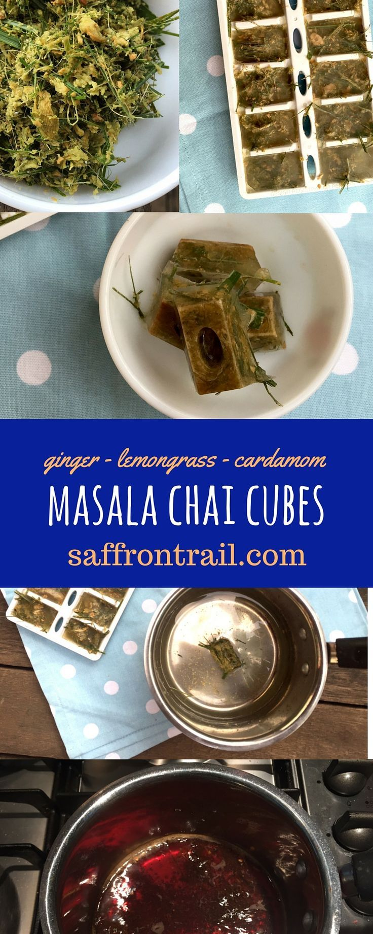 Masala For Homemade Chai | Masala Tea- Freeze & Store A kitchen hack for the chai-lover - a fresh masala mix to make homemade masala chai,  store this fresh spice mix in the ice tray and use 1 cube per cup of chai. ENJOY :)