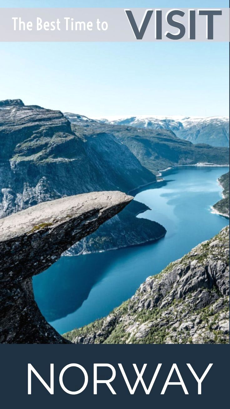Have You Ever Wondered When Is The Best Time To Visit Norway Well The Quick Answer Is Anytime Find Out The Visit Norway Norway Travel Best Places To Travel