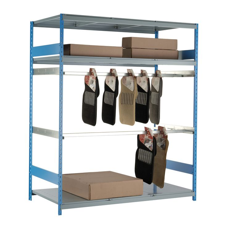 Mat Rack (Single) : No. Shelves:3 / Width (inches):72 / Height (inches):87 / Depth (inches):36 / Net weight (lb.):243.03 / Functional design that ensures it's easy to use. / 300 lb capacity per rail.. / Versatile structure, to which a wide range of accessories can be added. / For personalized configuration, contact us!
