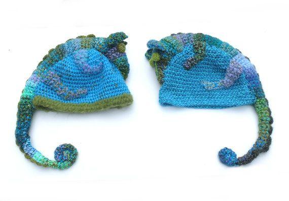 #hat #chameleon #forAnimalLovers #turquoise #Florfanka