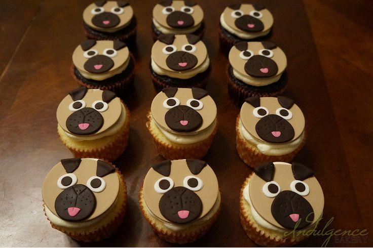 Cupcakes! - Pug Cupcakes!