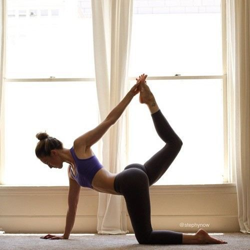 twisted cow #yoga