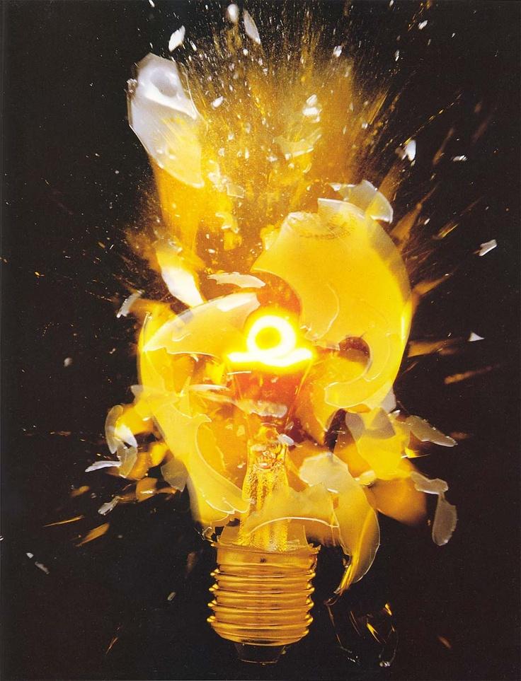 Exploding Light Bulb 49