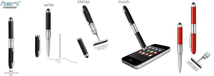 Le seul stylo-tampon sans coussin encreur