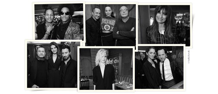 A la veille du lancement de la Fashion Week haute couture automne-hiver 2015-2016, l'agence de mannequins Next organisait un dîner au restaurant Caviar Kaspia samedi 24 janvier. Tim Blanks, Isabeli Fontana, les Twins… Revue en images des invités par Saskia Lawaks.