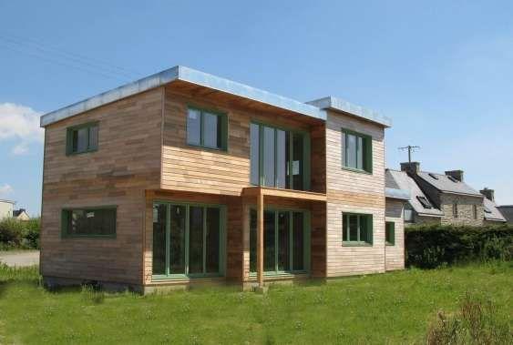 Construction d'une maison en bois, écologique et passive dans le Finistère - La Maison Des Architectes