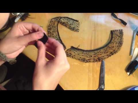 TDKR: Catwoman masquerade mask and ears tutorial - YouTube