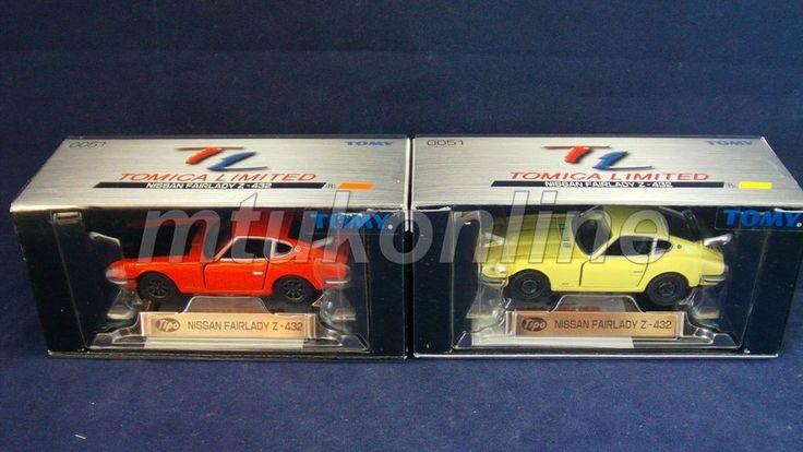TOMICA TL 51 | NISSAN FAIRLADY Z432 S30 1969 | ST 2005 BOX | 2 MODELS