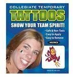 Arizona State Sun Devils Face Tattoos by Westrick Paper. $6.99. Support Your Favorite School with these Temporary Face Tattoos